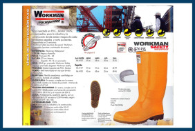 Workman safety waterproof amarilla